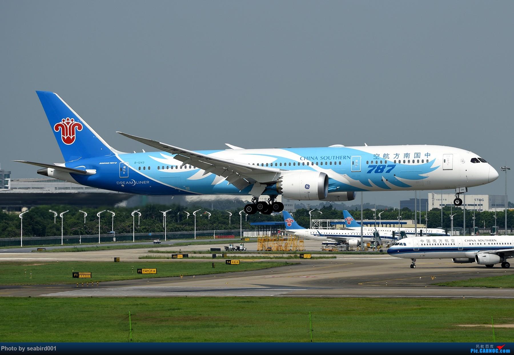 Re:[原创]广州白云拍飞机。 BOEING 787-9 B-1243 中国广州白云国际机场