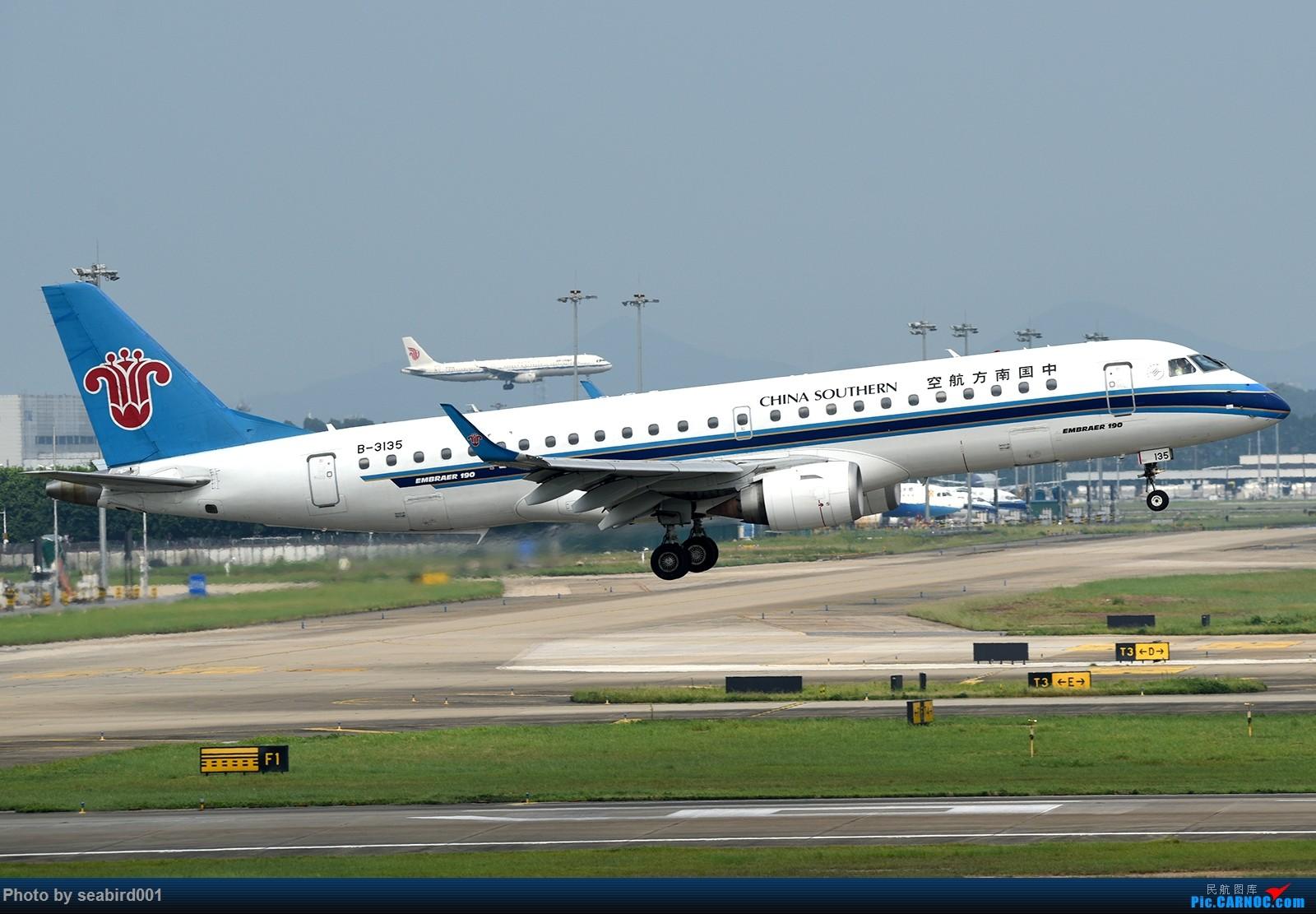 Re:[原创]广州白云拍飞机。 EMBRAER E-190 B-3135 中国广州白云国际机场