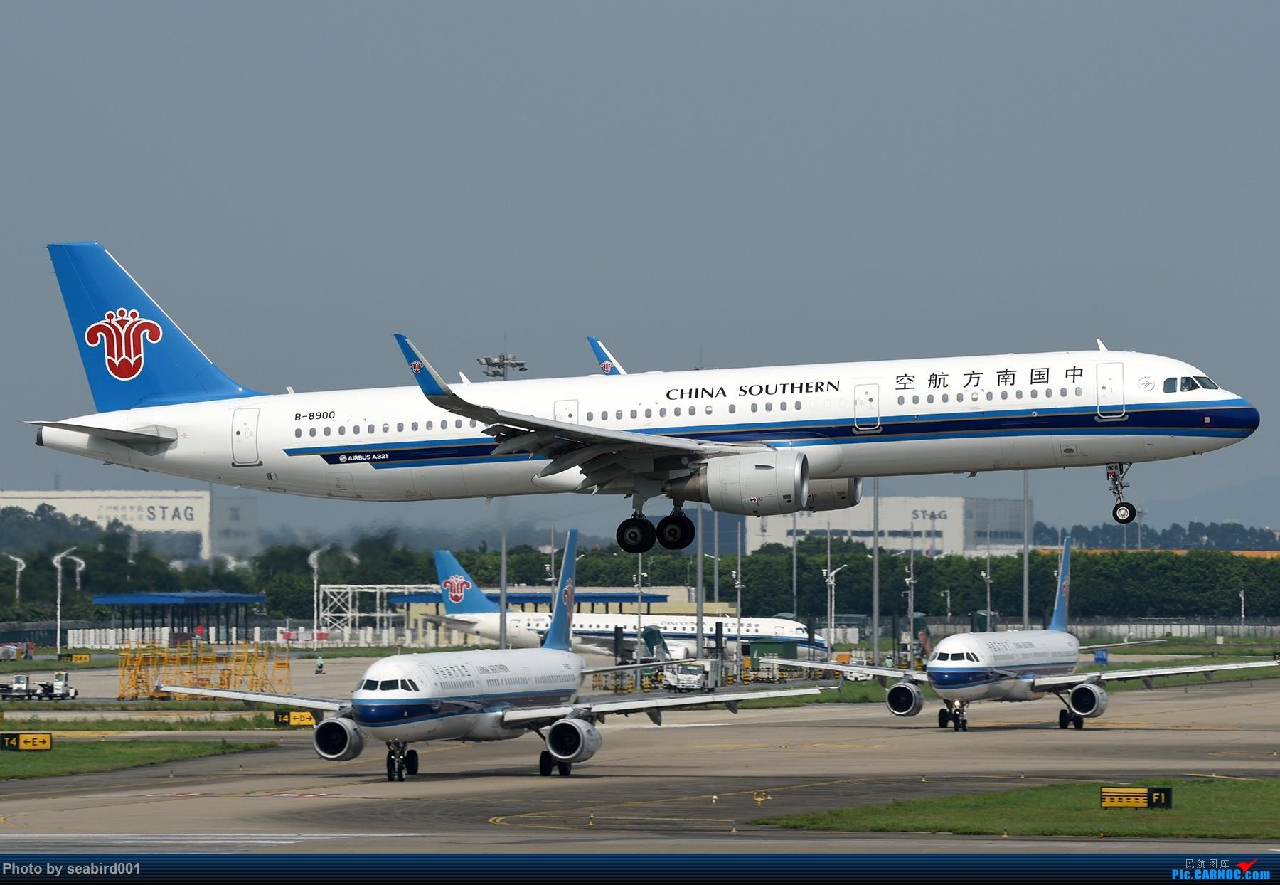 Re:[原创]广州白云拍飞机。 AIRBUS A321-200 B-8900 中国广州白云国际机场