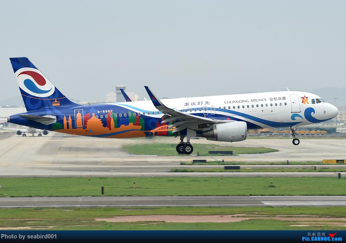 Re:[原创]广州白云拍飞机。 AIRBUS A320-200 B-8987 中国广州白云国际机场