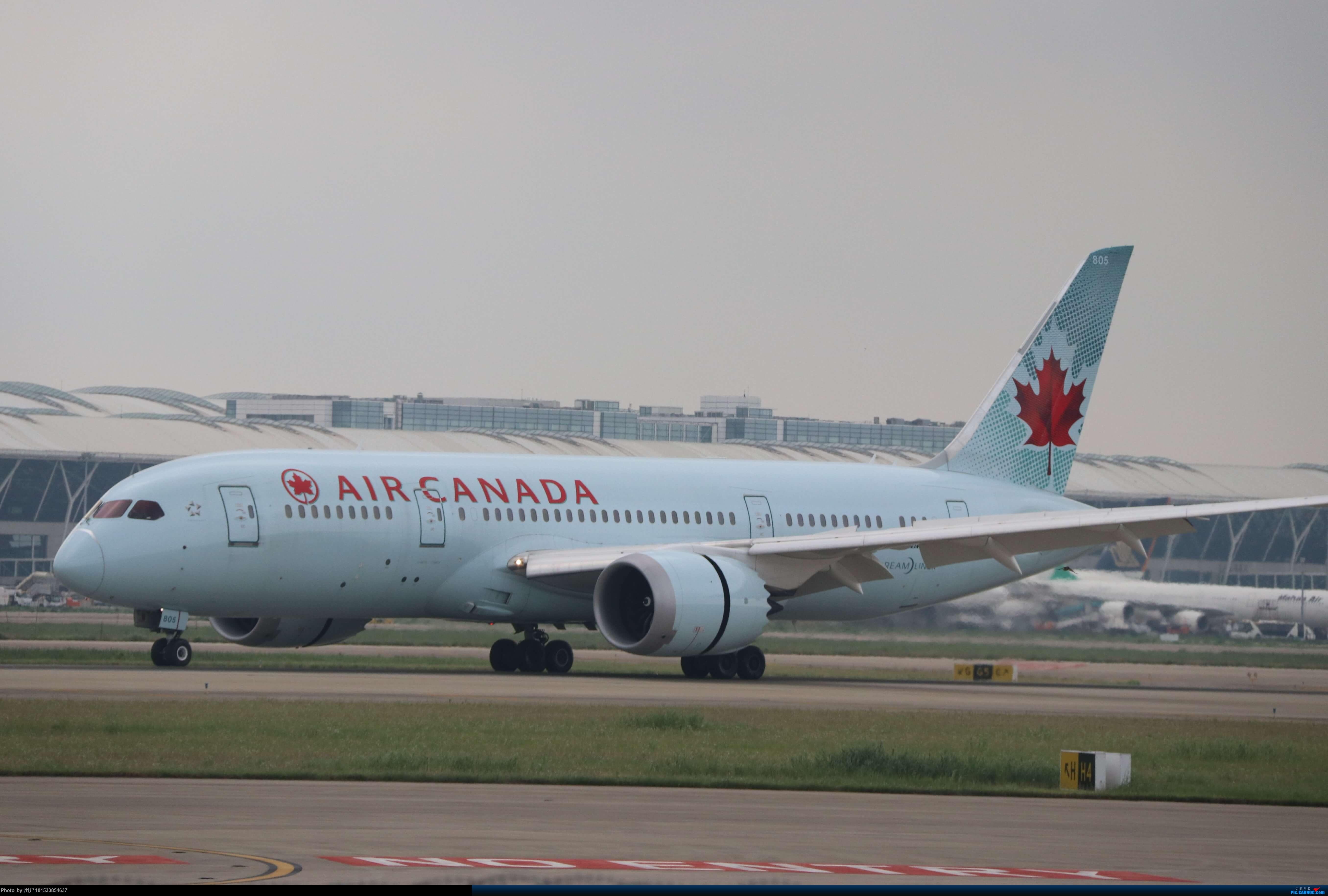 Re:PVG拍机 BOEING 787-8  中国上海浦东国际机场