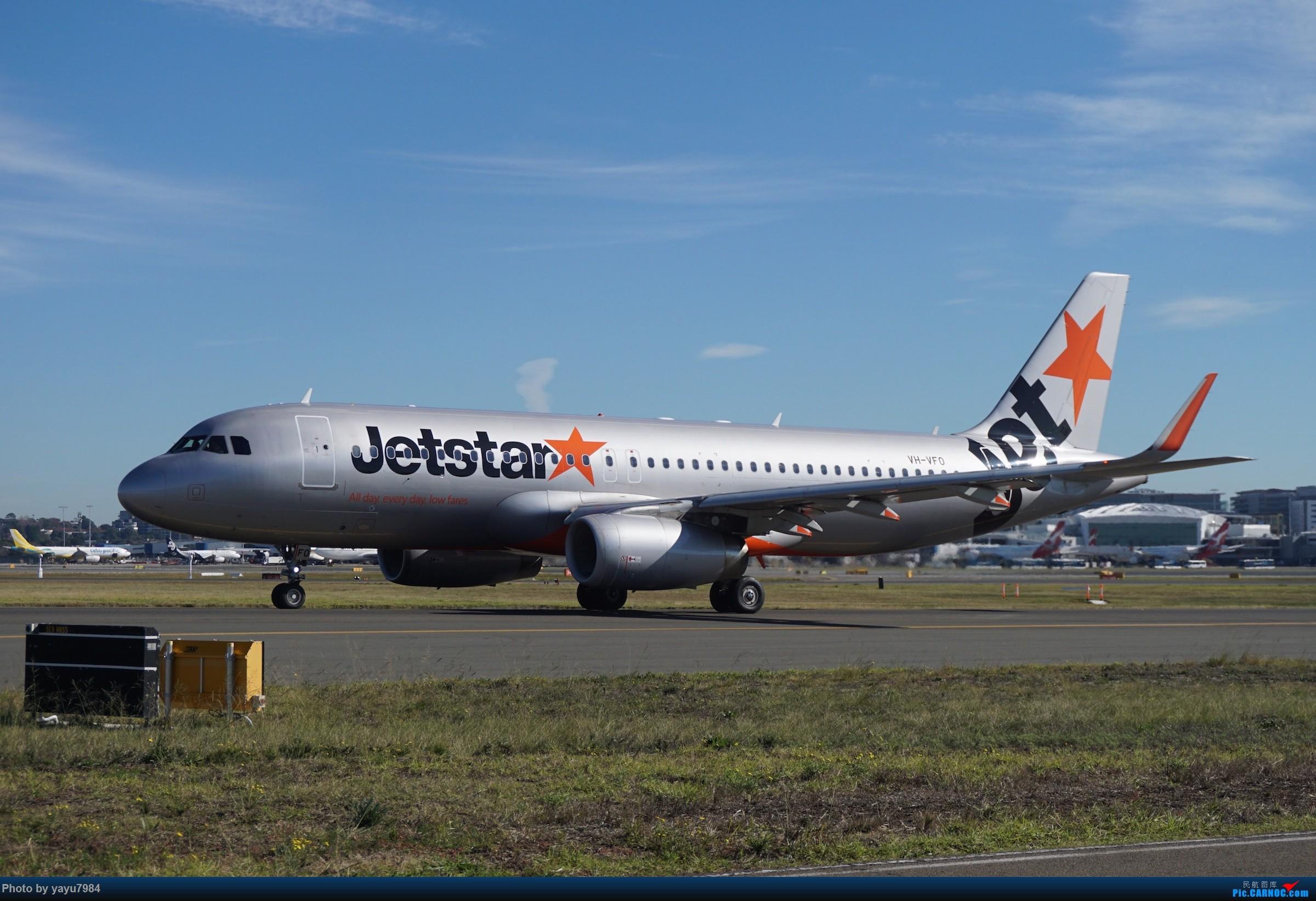 Re:[原创][SYD] 晨悉尼,Blu Emu停车场里拍34L起飞以及滑行 AIRBUS A320-200 VH-VFO 澳大利亚悉尼金斯福德·史密斯机场