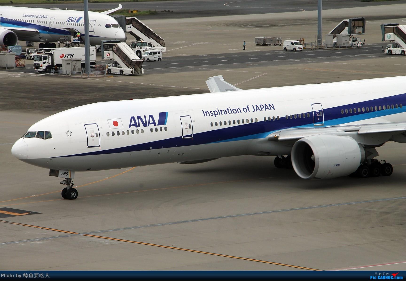 Re:[原创]梅雨季节的日本行:北海道+东京 6日自由行 南京--札幌--东京--上海虹桥 新千岁与羽田的拍机之旅 BOEING 777-300ER JA786A 东京羽田国际机场