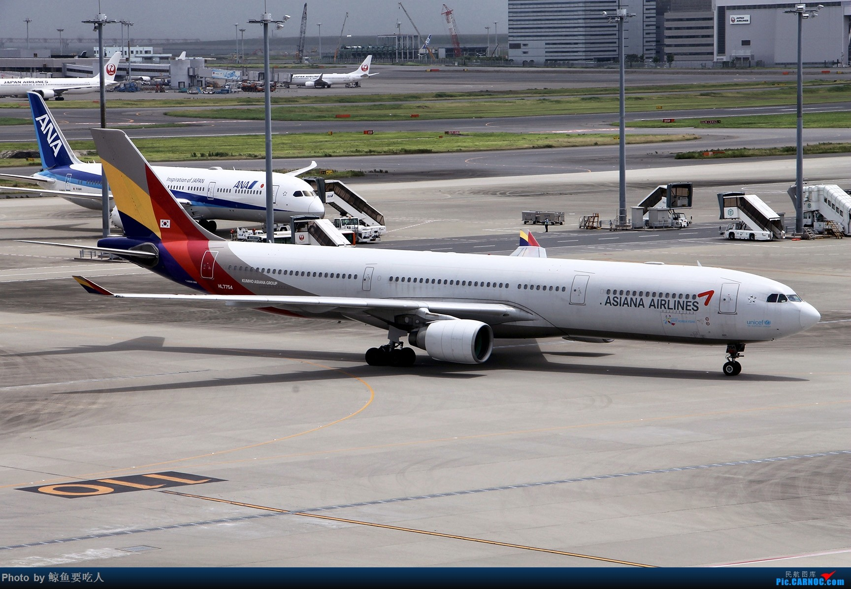 Re:[原创]梅雨季节的日本行:北海道+东京 6日自由行 南京--札幌--东京--上海虹桥 新千岁与羽田的拍机之旅 AIRBUS A330-300 HL7754 东京羽田国际机场