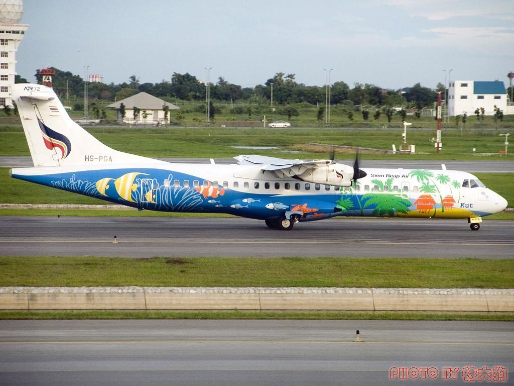 Re:苏梅岛遇到一架刚转入曼谷航空还没改涂装和注册号的前保加利亚航空飞机