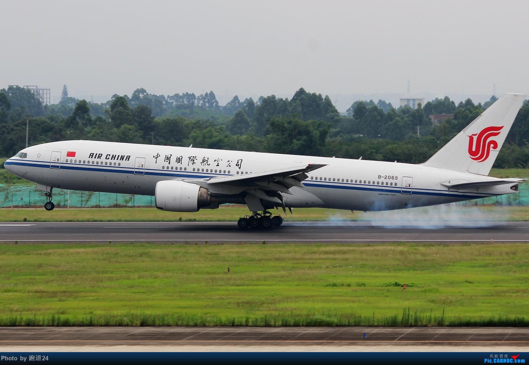 Re:[原创]【多图党】7.6CTU日常拍机 BOEING 777-200 B-2069 中国成都双流国际机场