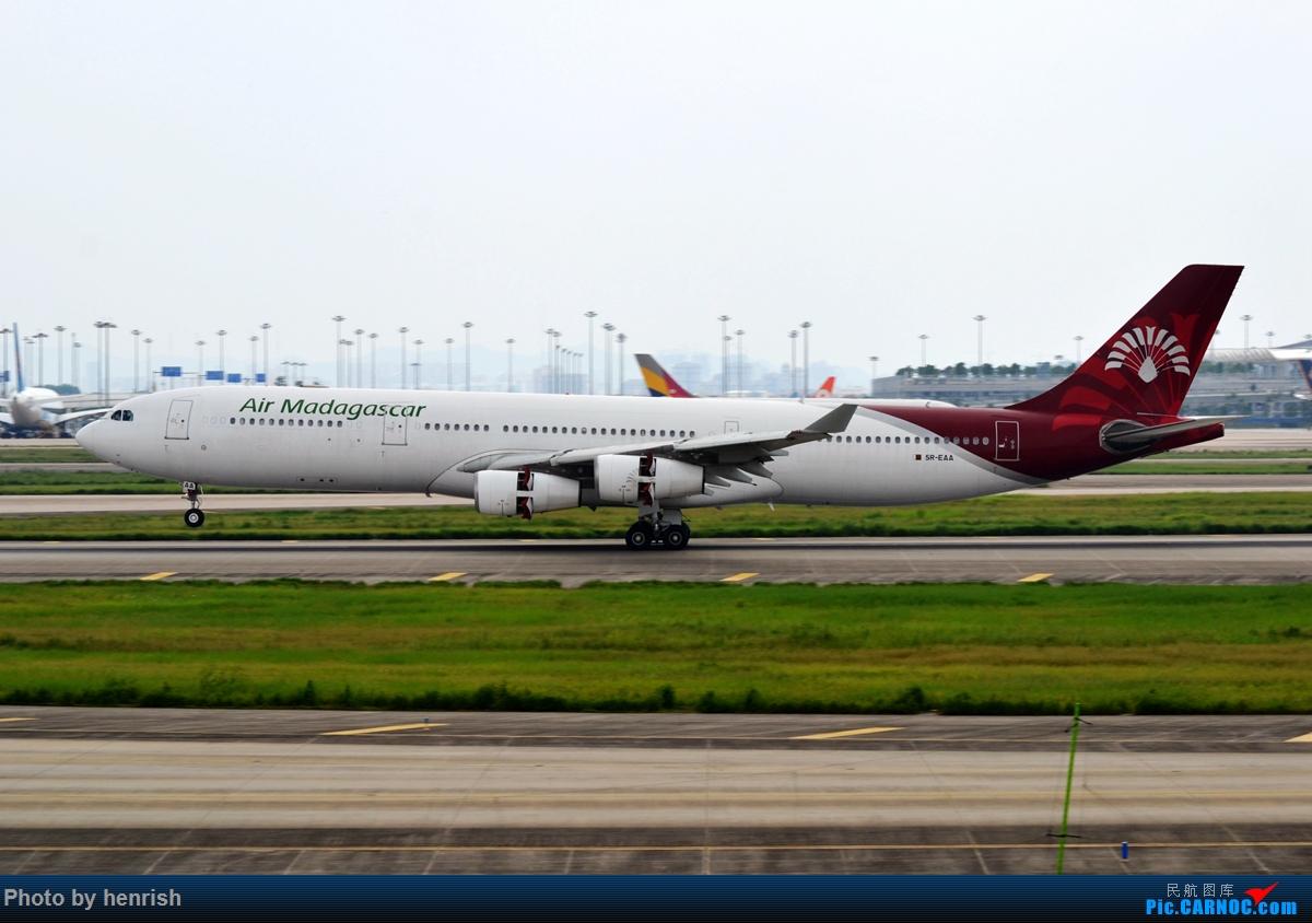 Re:[原创]【肥威的CAN】7月5日,东跑常规货随手拍!【 广东青少年拍机小队】【广州,你好!】 AIRBUS A340-300 5R-EAA 中国广州白云国际机场