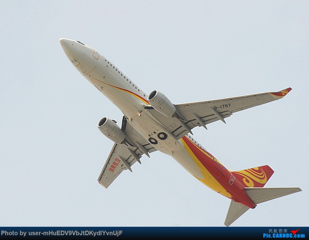 [原创]萌新第一次pek拍机大佬们多多指教〉〉〉 BOEING 737-800 B-1787 中国北京首都国际机场
