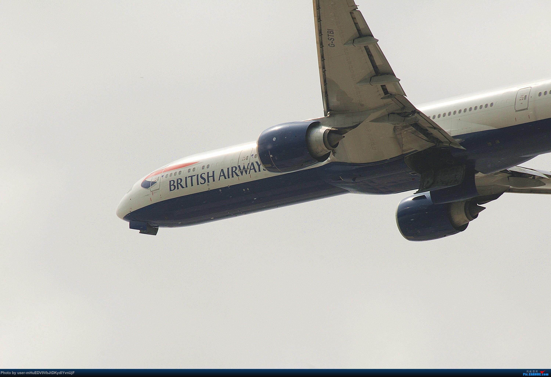 Re:[原创]萌新第一次pek拍机大佬们多多指教〉〉〉 BOEING 777-300ER G-STBI 中国北京首都国际机场