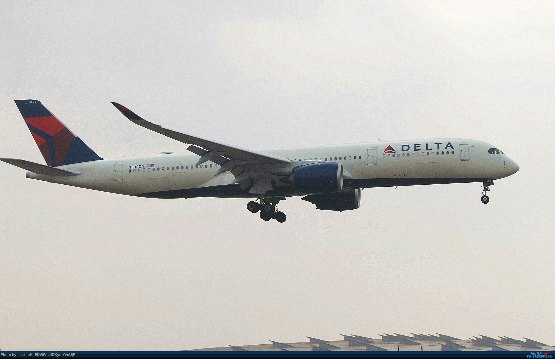 Re:[原创]萌新第一次pek拍机大佬们多多指教〉〉〉 AIRBUS A350-900 N502DN 中国北京首都国际机场