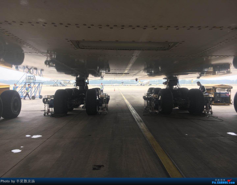 Re:[原创]A380主轮降温作业,道格拉斯抱轮车,747、330,多图 AIRBUS A380-800 9V-SKF 中国北京首都国际机场