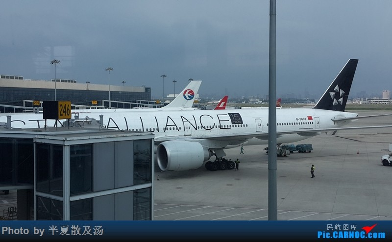 Re:[原创]A380主轮降温作业,道格拉斯抱轮车,747、330,多图 BOEING 777-300ER B-2032 中国上海虹桥国际机场