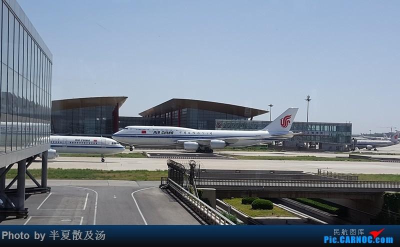 Re:[原创]A380主轮降温作业,道格拉斯抱轮车,747、330,多图 BOEING 747-8I B-2482 中国北京首都国际机场