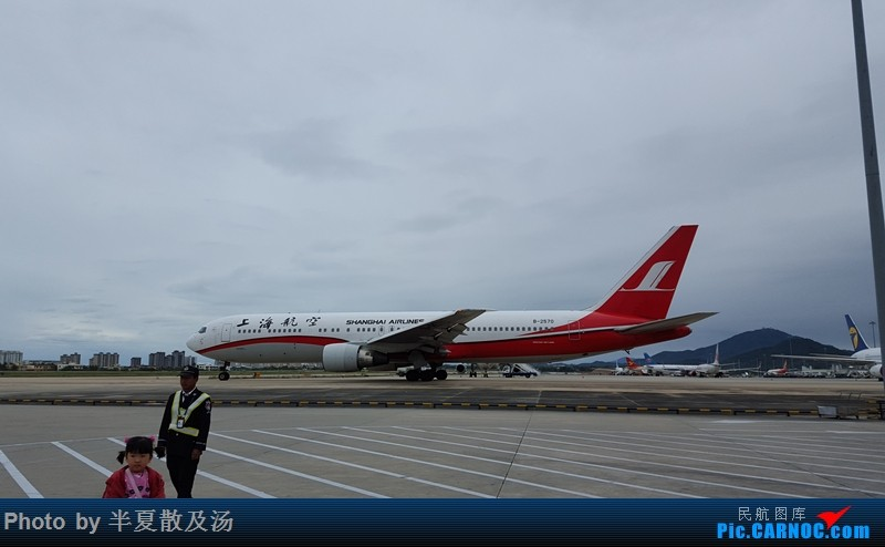 Re:[原创]A380主轮降温作业,道格拉斯抱轮车,747、330,多图 BOEING 767-300 B-2570 中国三亚凤凰国际机场