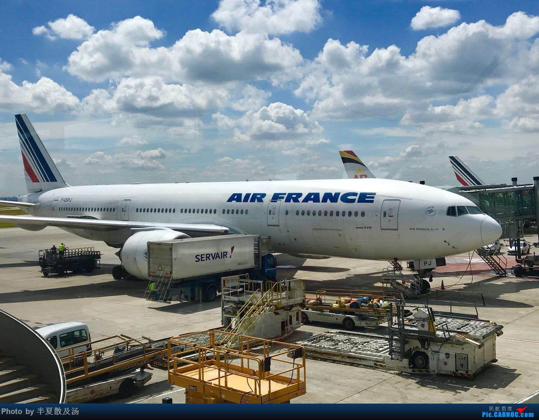 Re:[原创]A380主轮降温作业,道格拉斯抱轮车,747、330,多图 BOEING 777-200 F-GSPJ 法国戴高乐机场
