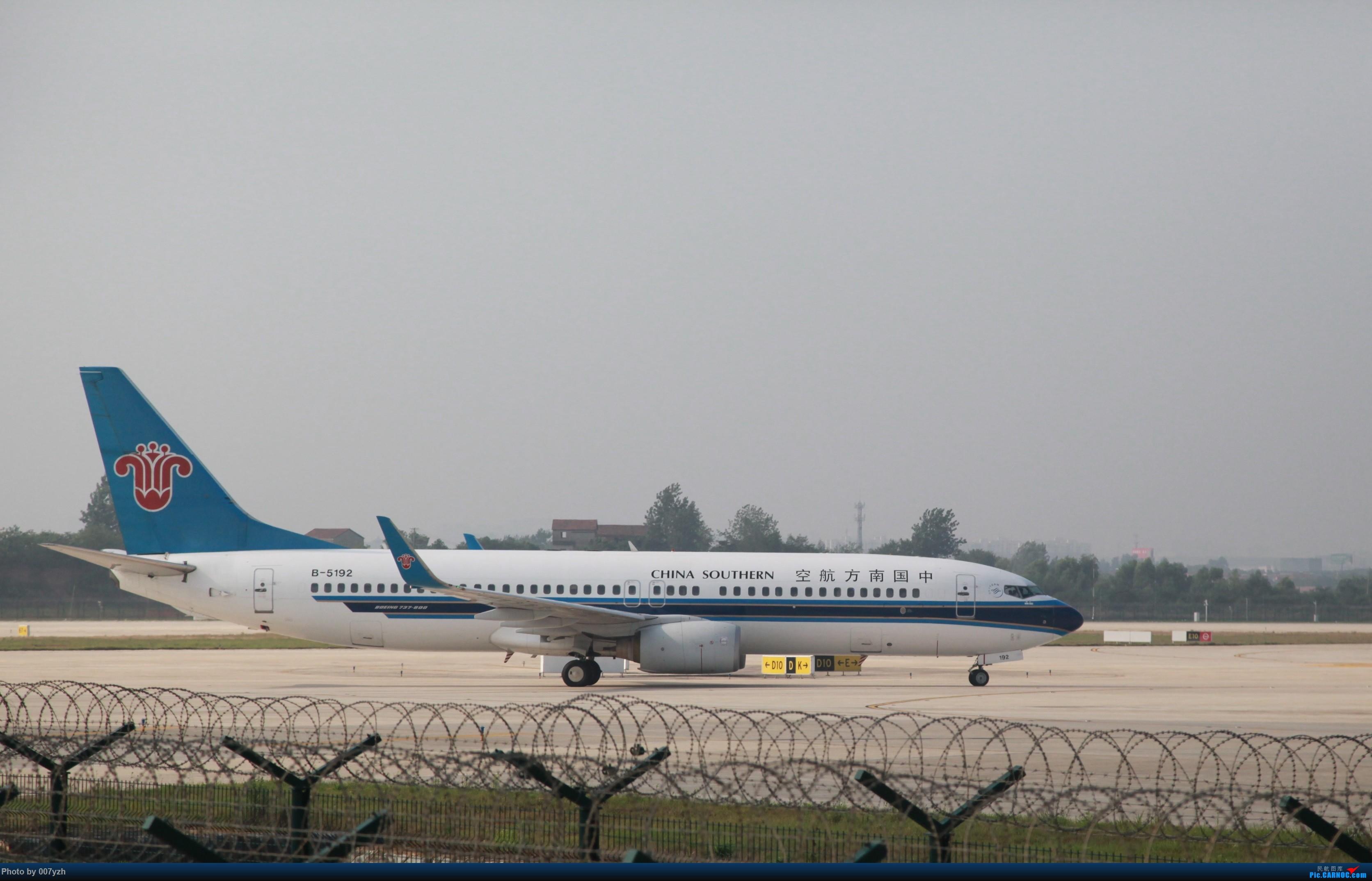 Re:[原创]7月5号WUH拍机,又是一个水泥天~ BOEING 737-800 B-5192 中国武汉天河国际机场