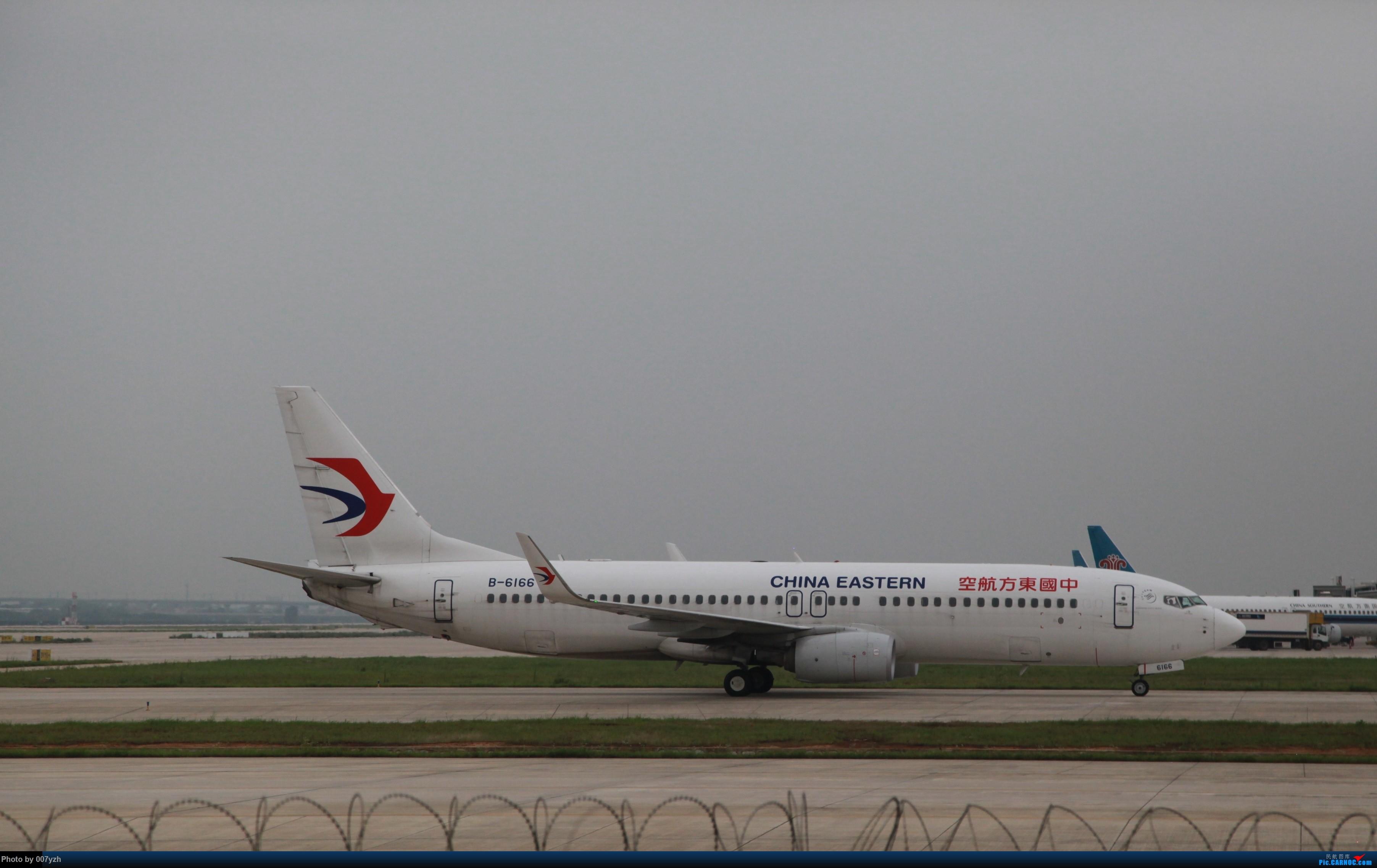 Re:[原创]7月5号WUH拍机,又是一个水泥天~ BOEING 737-800 B-6166 中国武汉天河国际机场