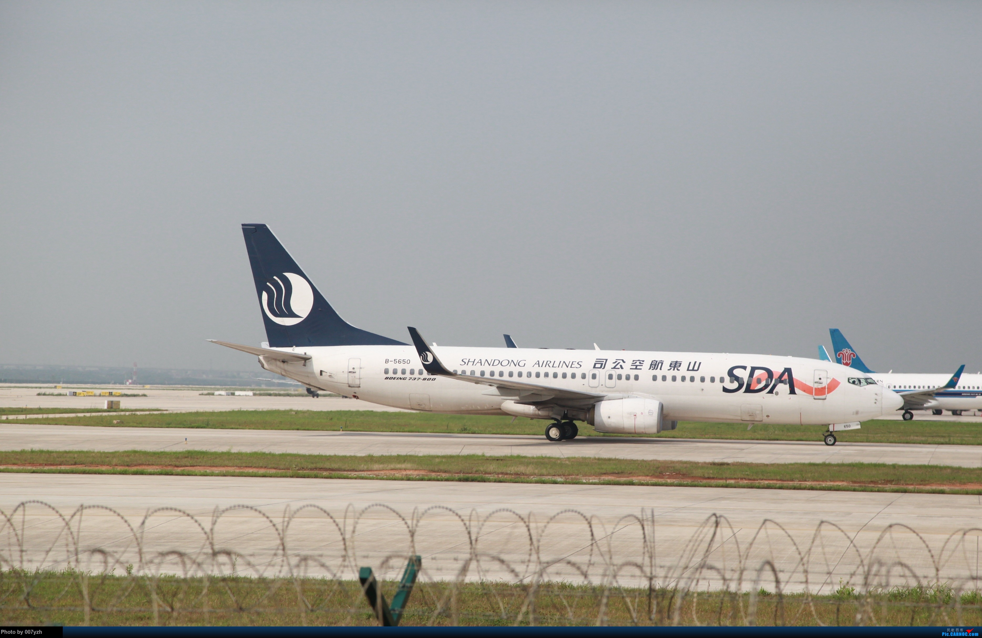 Re:[原创]7月5号WUH拍机,又是一个水泥天~ BOEING 737-800 B-5650 中国武汉天河国际机场