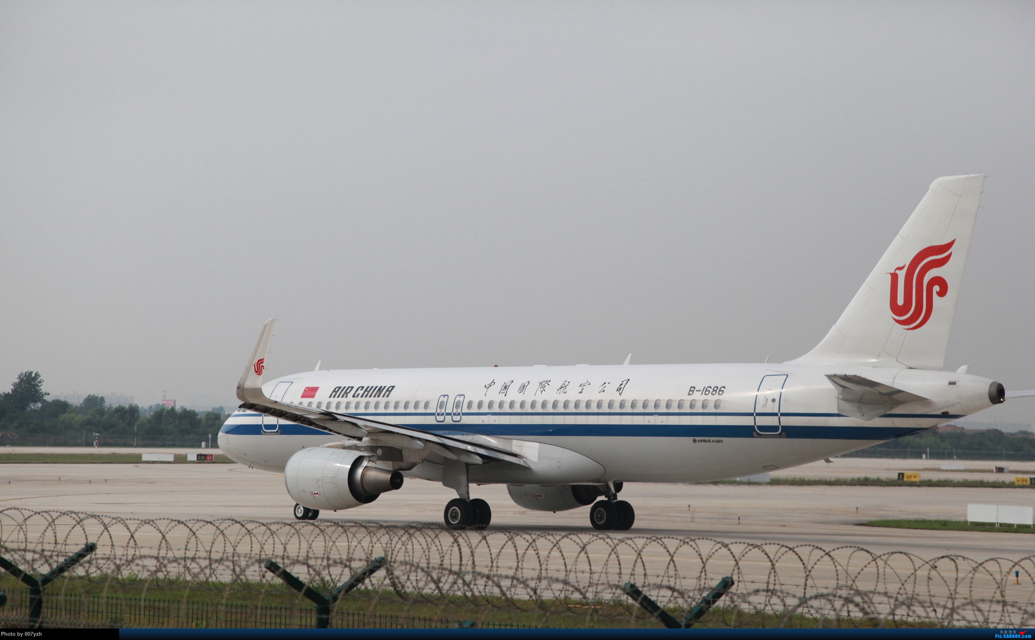 Re:7月5号WUH拍机,又是一个水泥天~ AIRBUS A320-200 B-1686 中国武汉天河国际机场