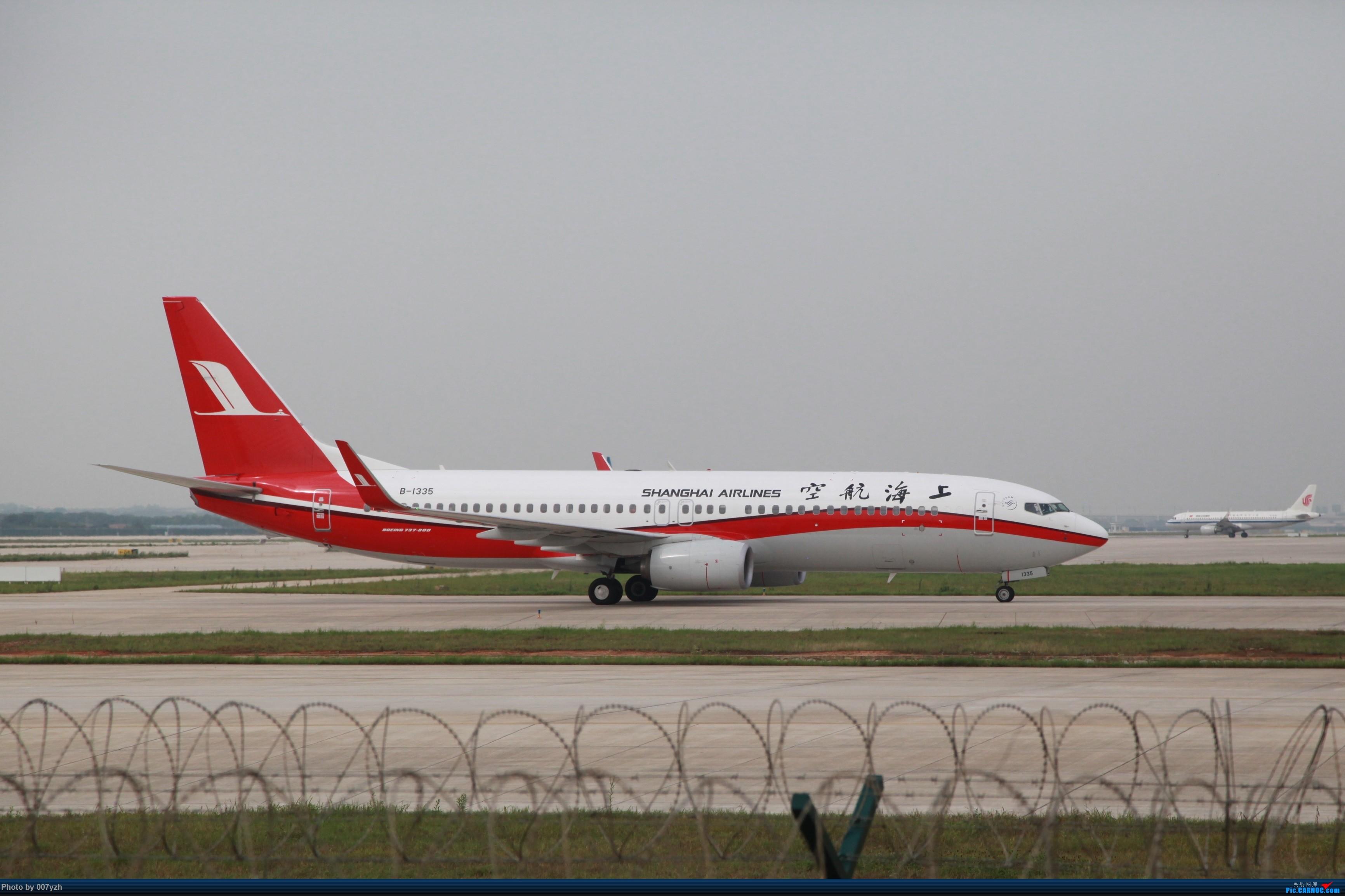 Re:[原创]7月5号WUH拍机,又是一个水泥天~ BOEING 737-800 B-1335 中国武汉天河国际机场