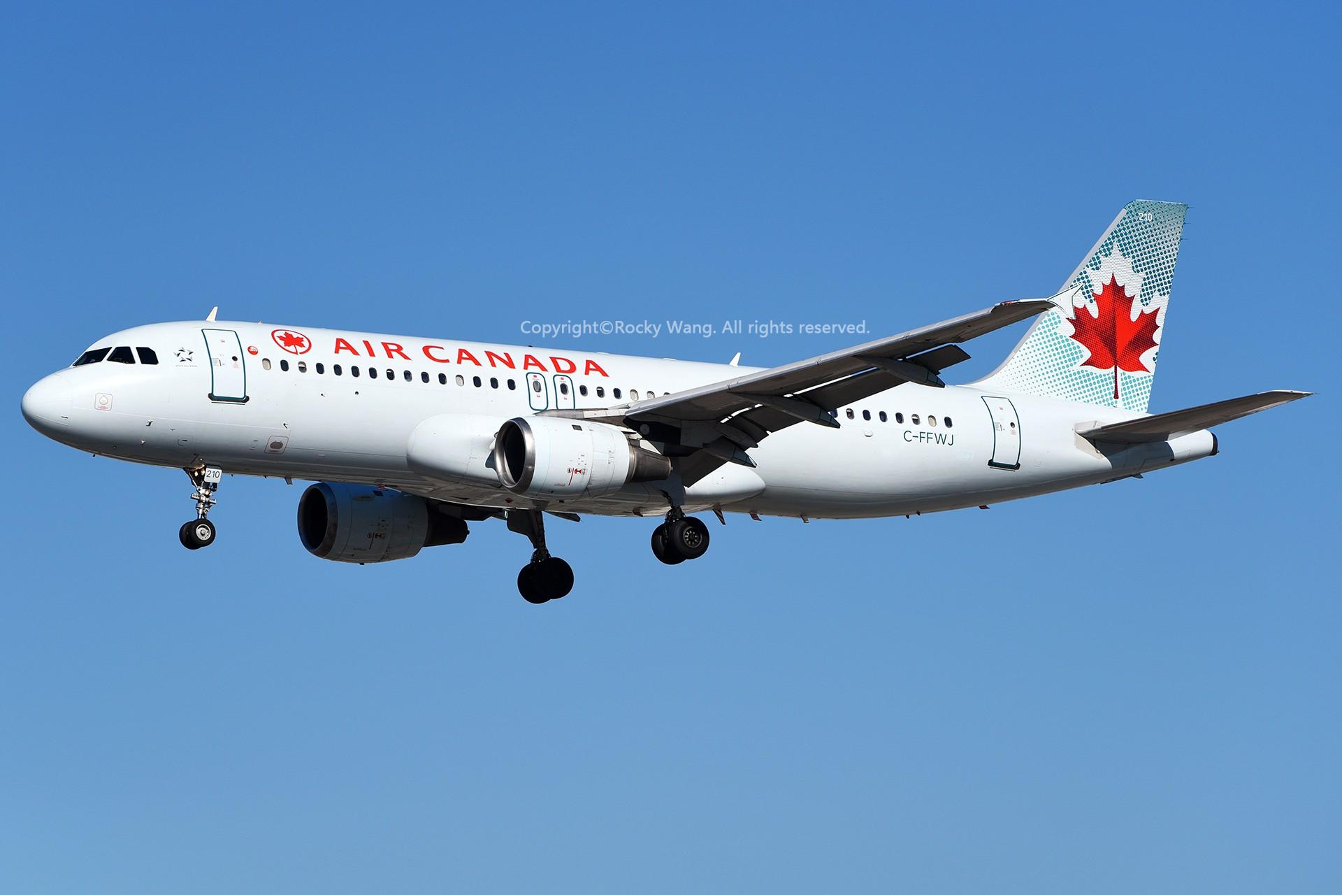 Re:[原创]窄体连连看 AIRBUS A320-211 C-FFWJ 加拿大多伦多皮尔逊机场