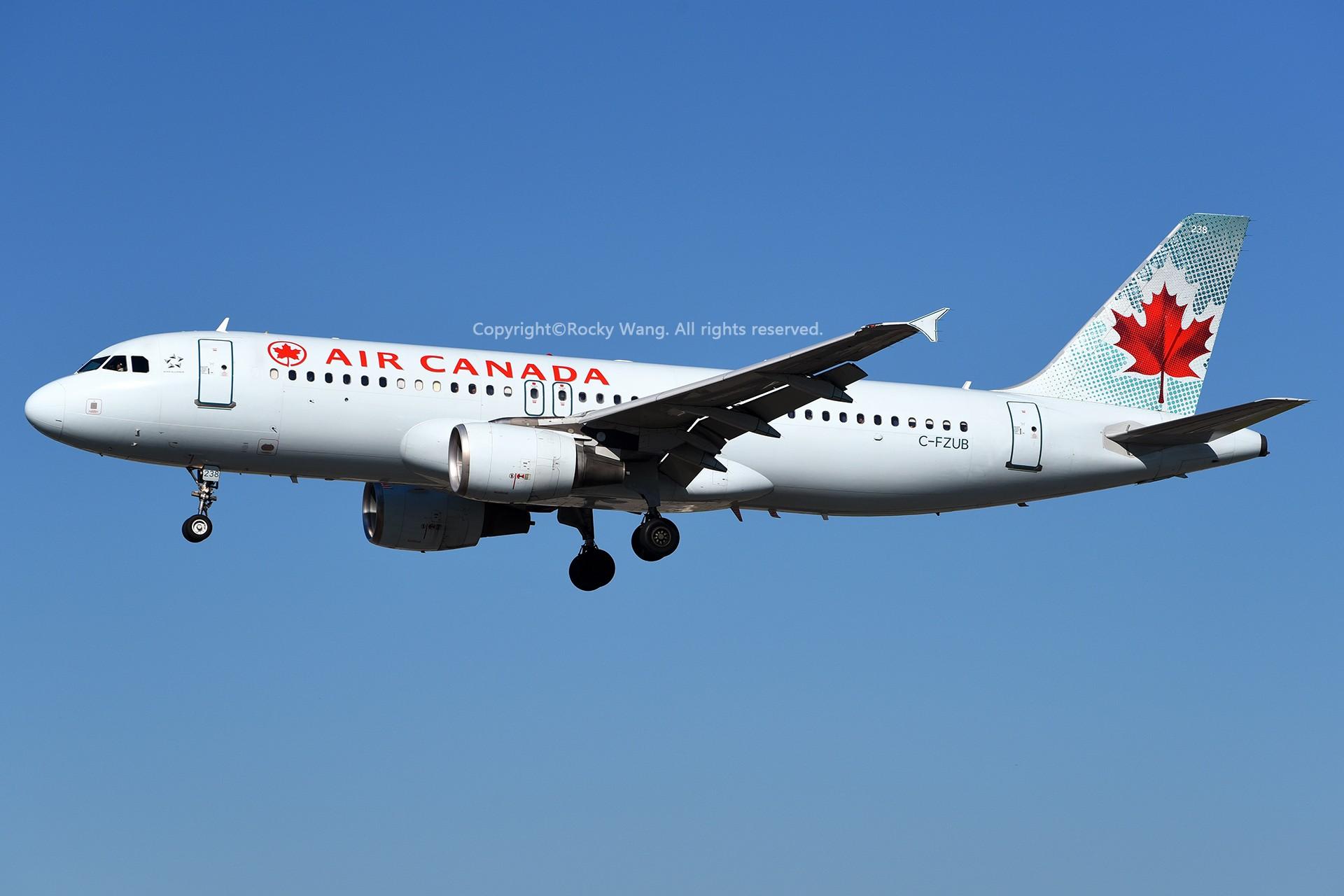 Re:[原创]窄体连连看 AIRBUS A320-211 C-FZUB 加拿大多伦多皮尔逊机场