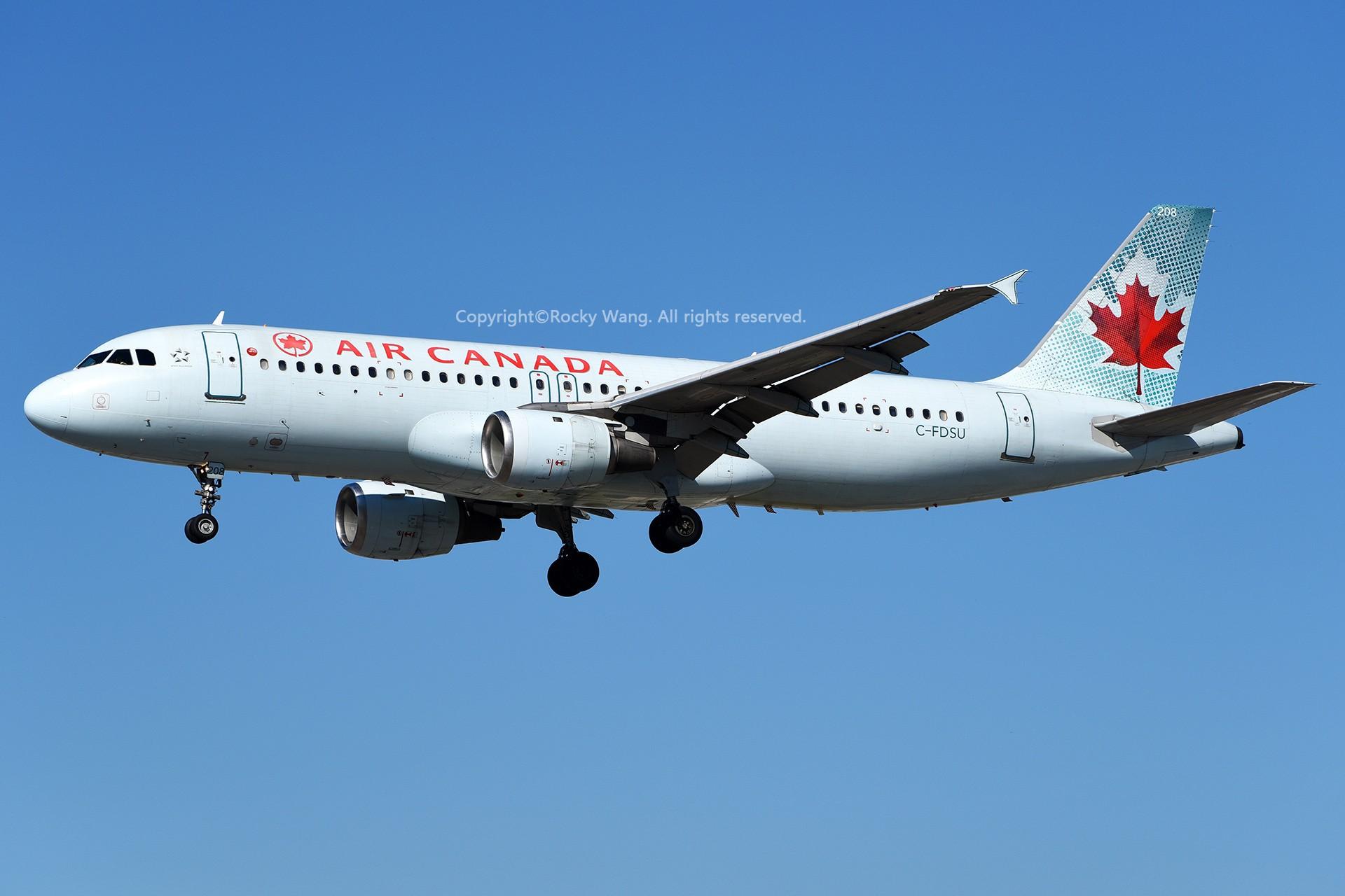 Re:[原创]窄体连连看 AIRBUS A320-211 C-FDSU 加拿大多伦多皮尔逊机场