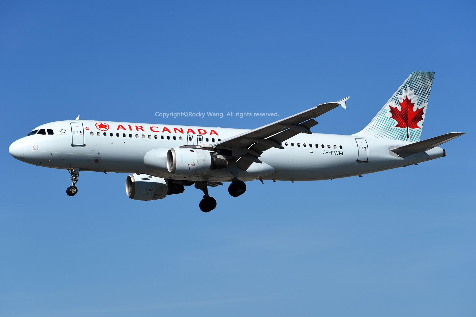 Re:[原创]窄体连连看 AIRBUS A320-211 C-FFWM 加拿大多伦多皮尔逊机场
