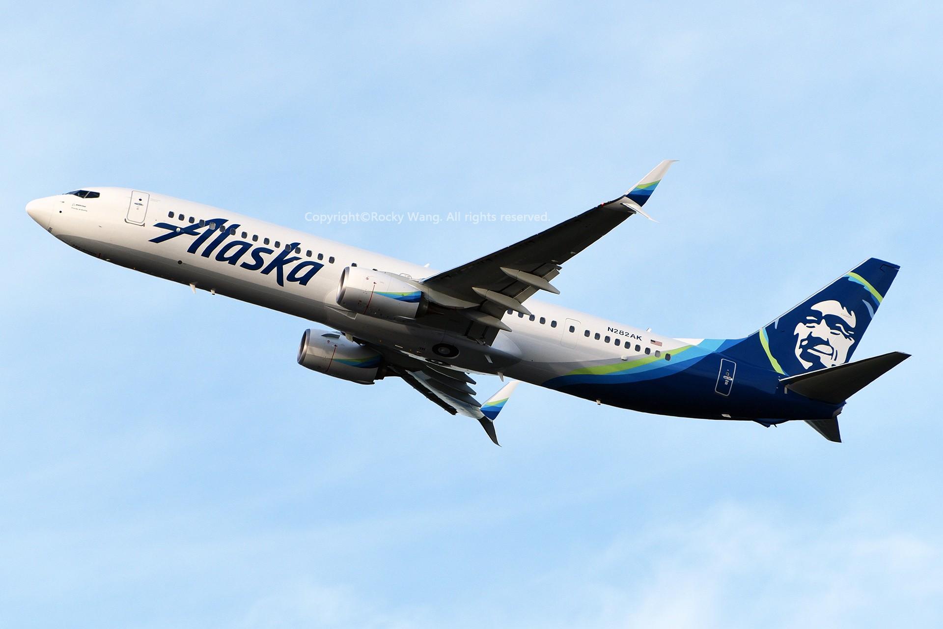 Re:[原创]窄体连连看 BOEING 737-990ER N282AK 美国西雅图机场