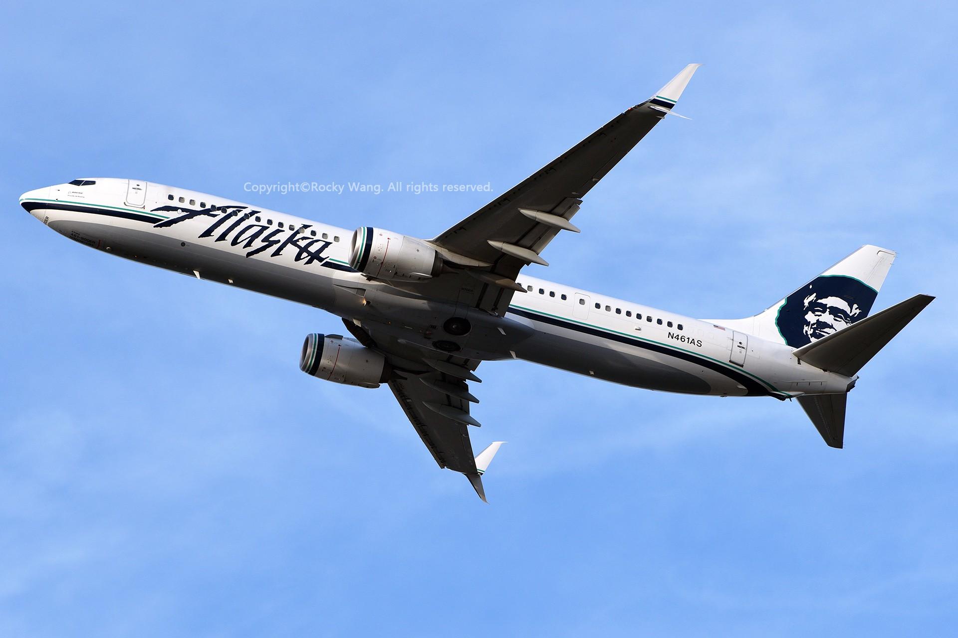 Re:[原创]窄体连连看 BOEING 737-990ER N461AS 美国西雅图机场