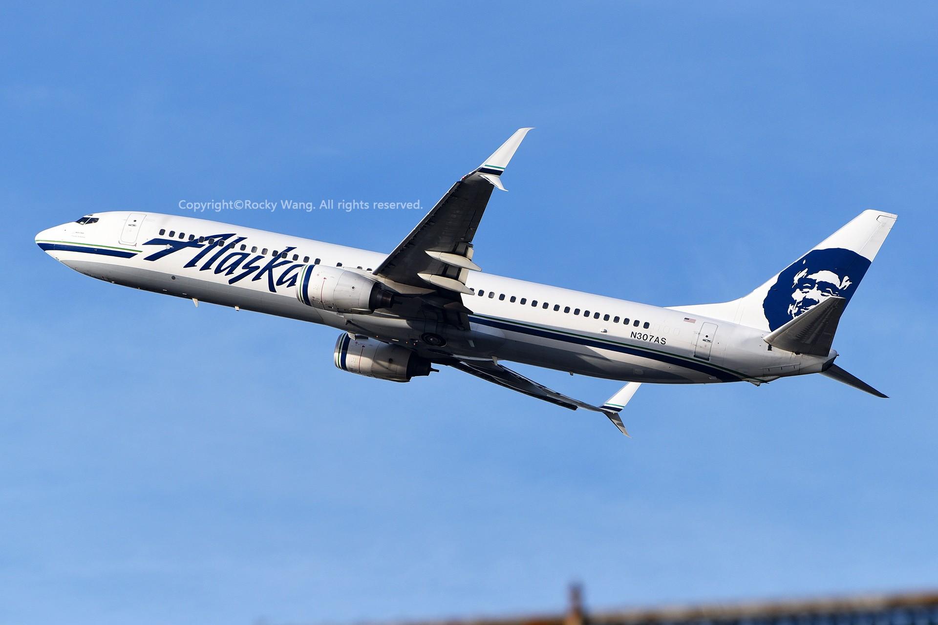 Re:[原创]窄体连连看 BOEING 737-990 N307AS 美国西雅图机场