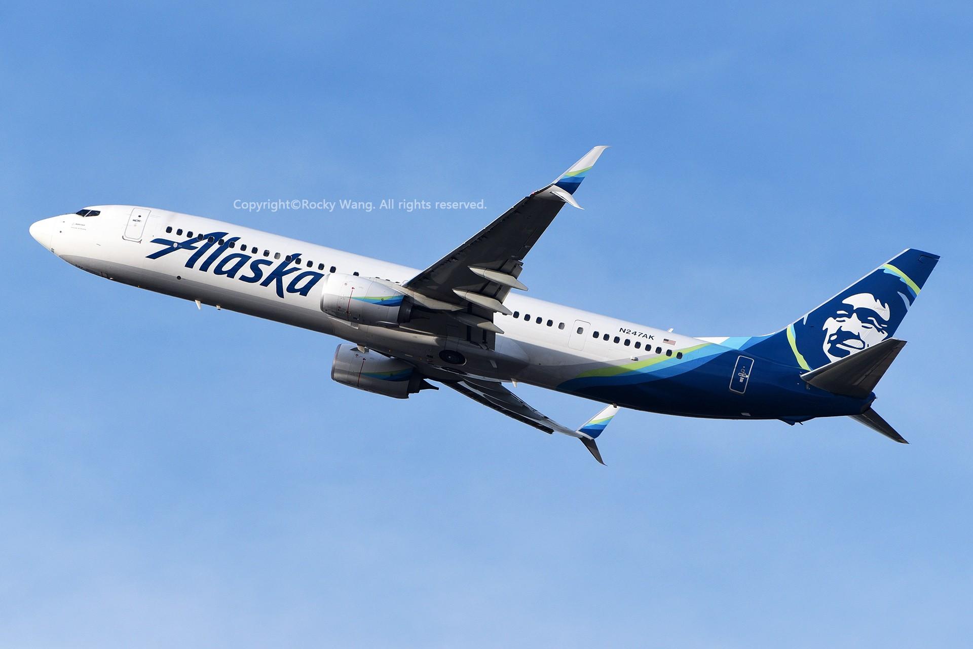 Re:[原创]窄体连连看 BOEING 737-990ER N247AK 美国西雅图机场