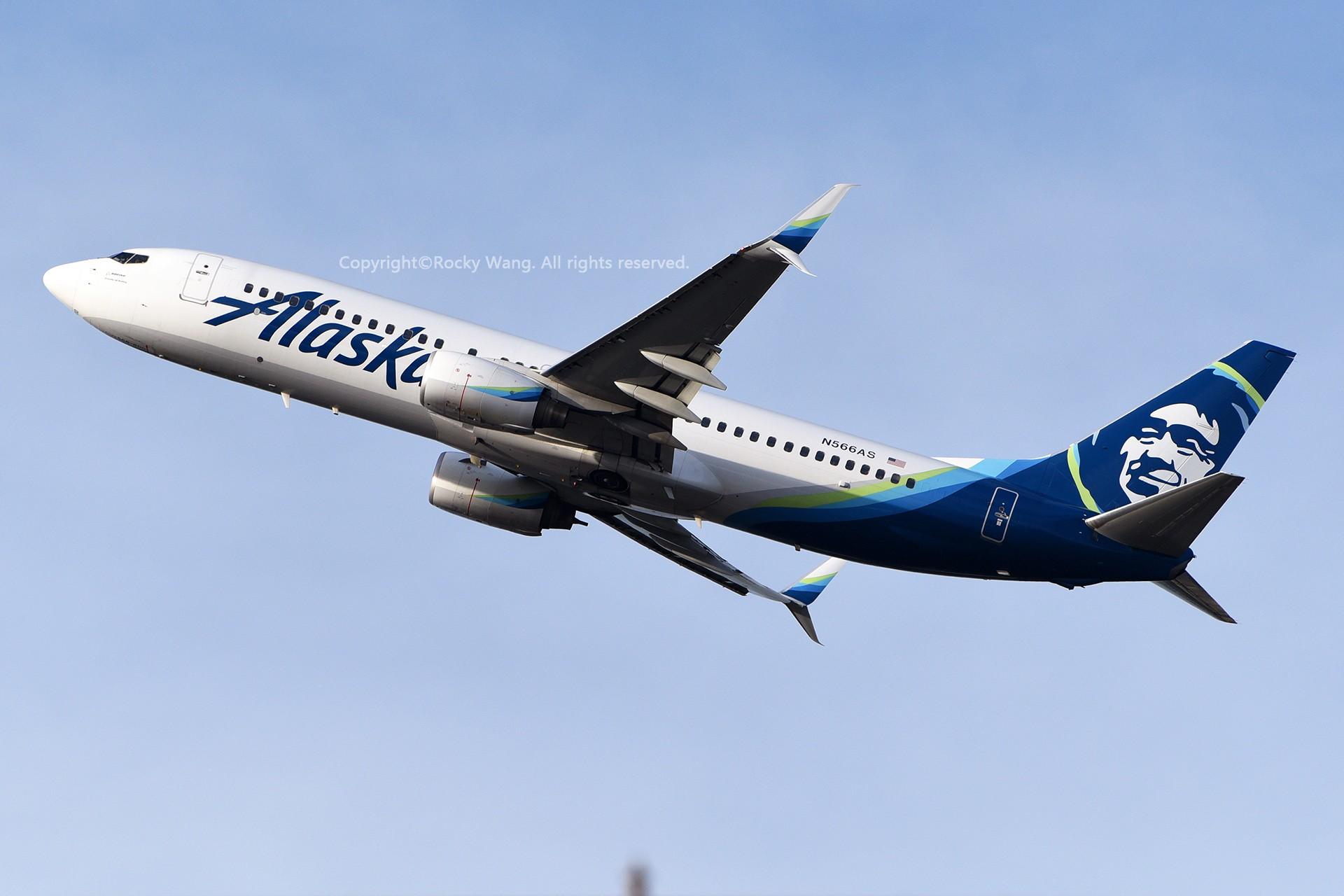 Re:[原创]窄体连连看 BOEING 737-890 N566AS 美国西雅图机场