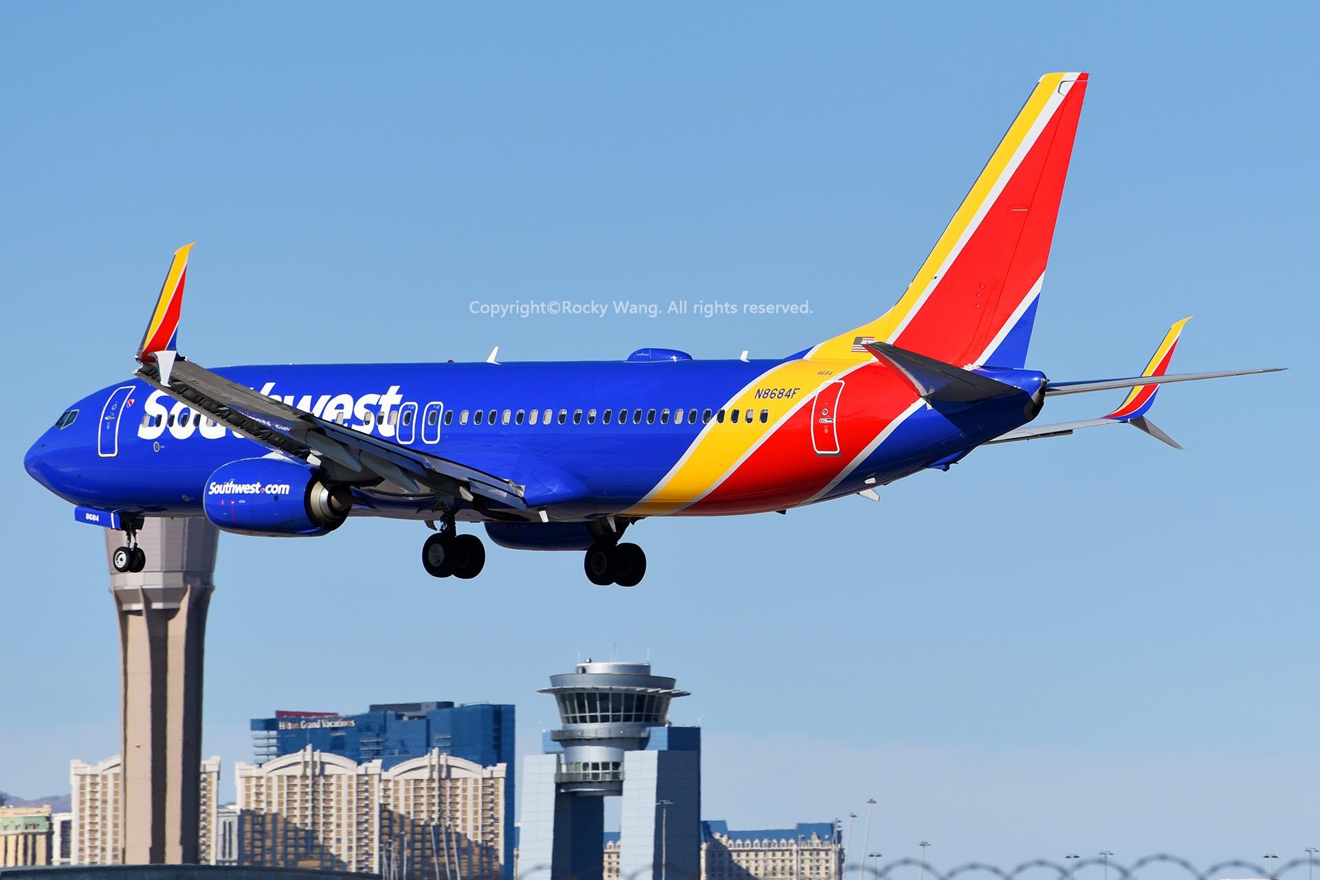 Re:[原创]窄体连连看 BOEING 737-8H4 N8684F 美国拉斯维加斯麦卡伦机场