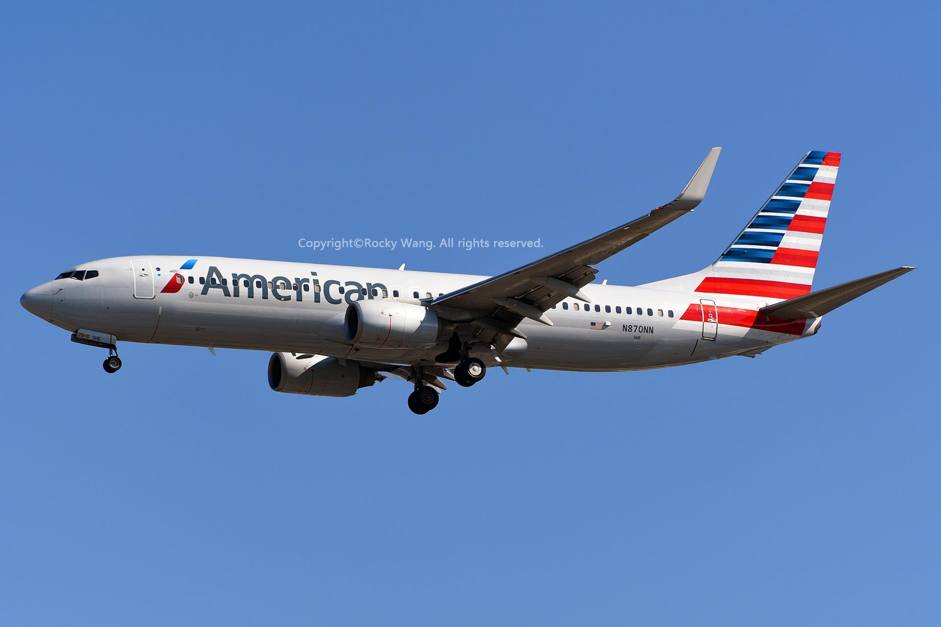 Re:[原创]窄体连连看 BOEING 737-823 N870NN 美国迈阿密机场