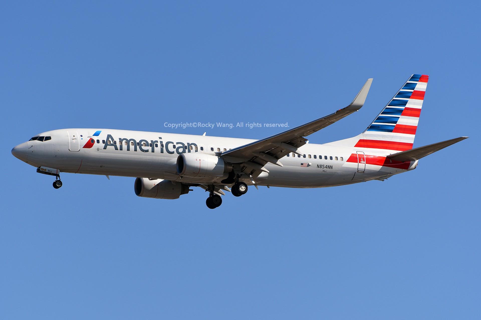 Re:[原创]窄体连连看 BOEING 737-823 N854NN 美国迈阿密机场