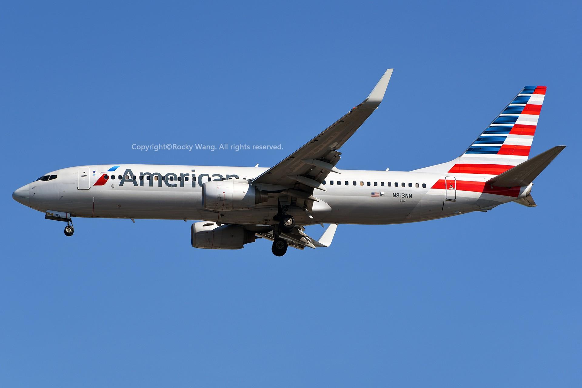 Re:[原创]窄体连连看 BOEING 737-823 N813NN 美国迈阿密机场
