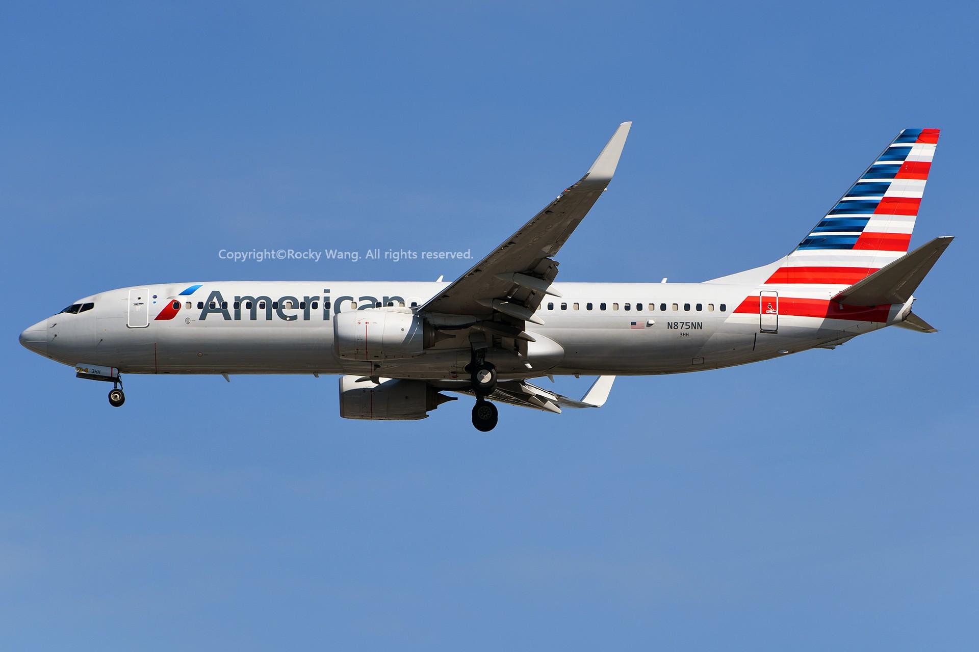 Re:[原创]窄体连连看 BOEING 737-823 N875NN 美国迈阿密机场