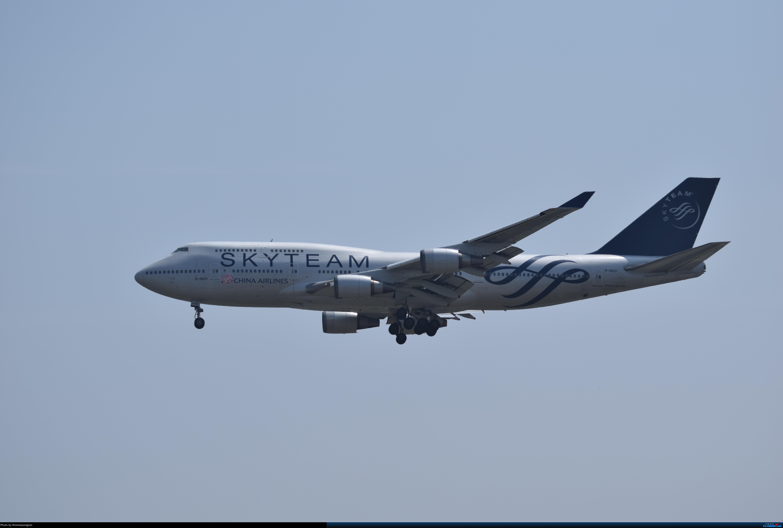 Re:华航天合联盟涂装747光临北京首都机场 BOEING 747-400