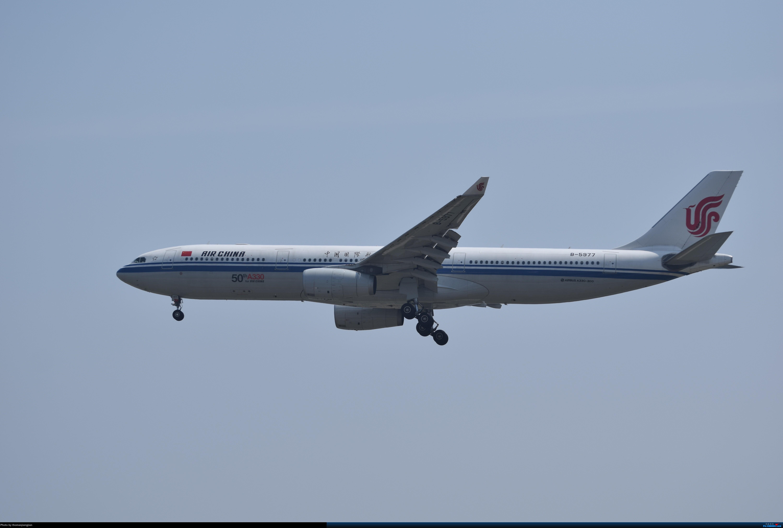 Re:华航天合联盟涂装747光临北京首都机场 AIRBUS A330-300