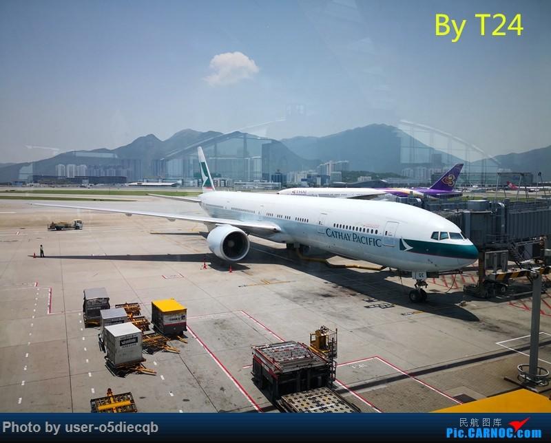 Re:[HBT'S TOUR] 3 AMERICA BOEING 777-300ER B-KQE 中国香港国际机场