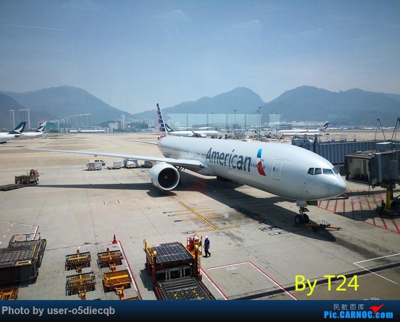 Re:[HBT'S TOUR] 3 AMERICA BOEING 777-300ER N733AR 中国香港国际机场