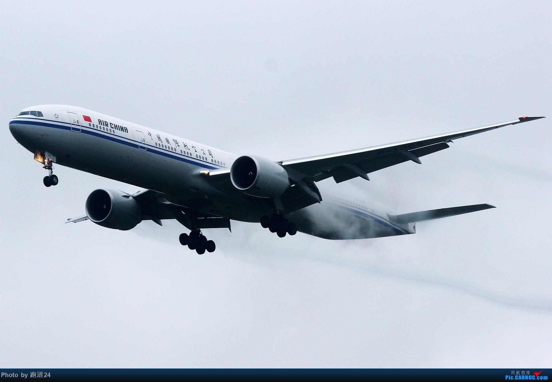 Re:[多图党]雨天CTU拍机 1800*1200 BOEING 777-300ER B-1266 中国成都双流国际机场
