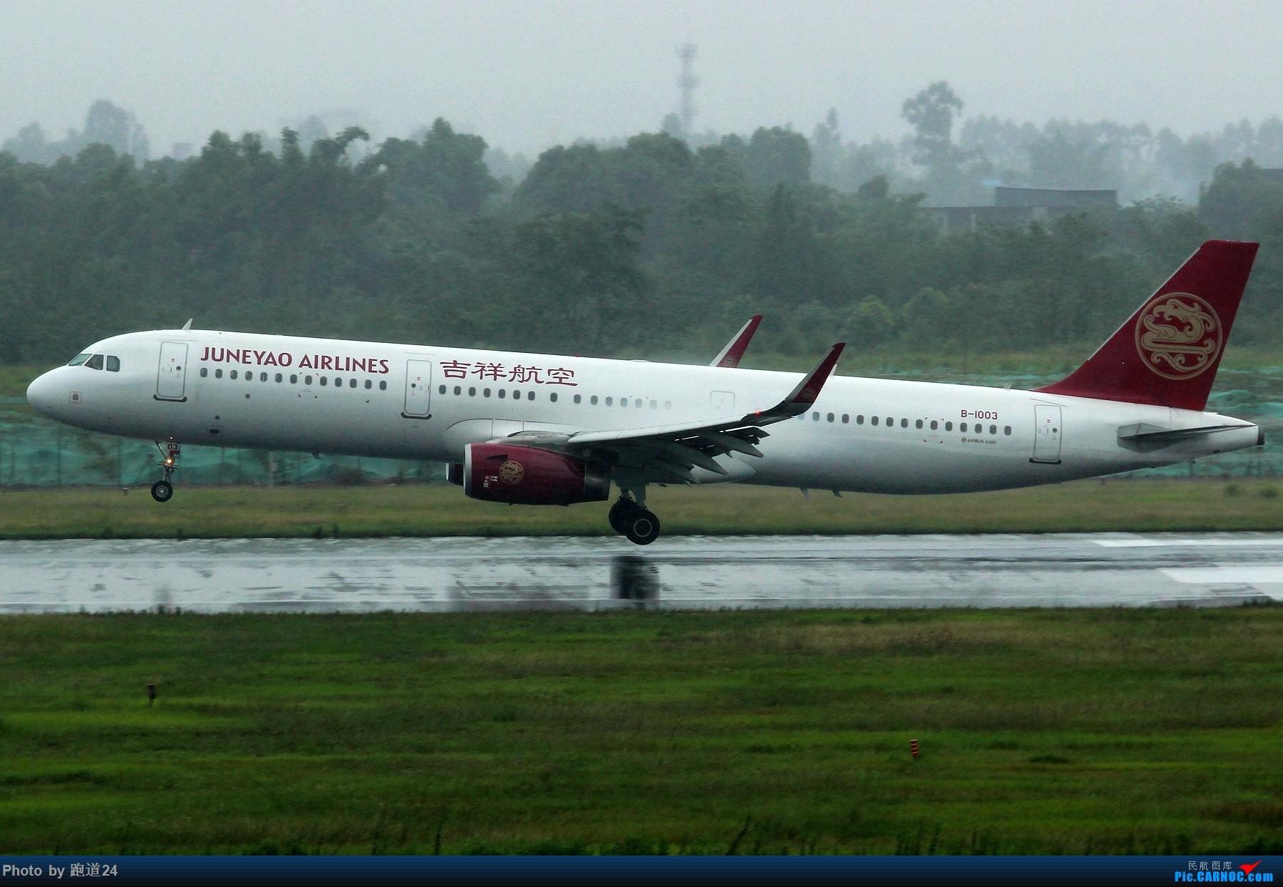 Re:[多图党]雨天CTU拍机 1800*1200 AIRBUS A321-200 B-1003 中国成都双流国际机场