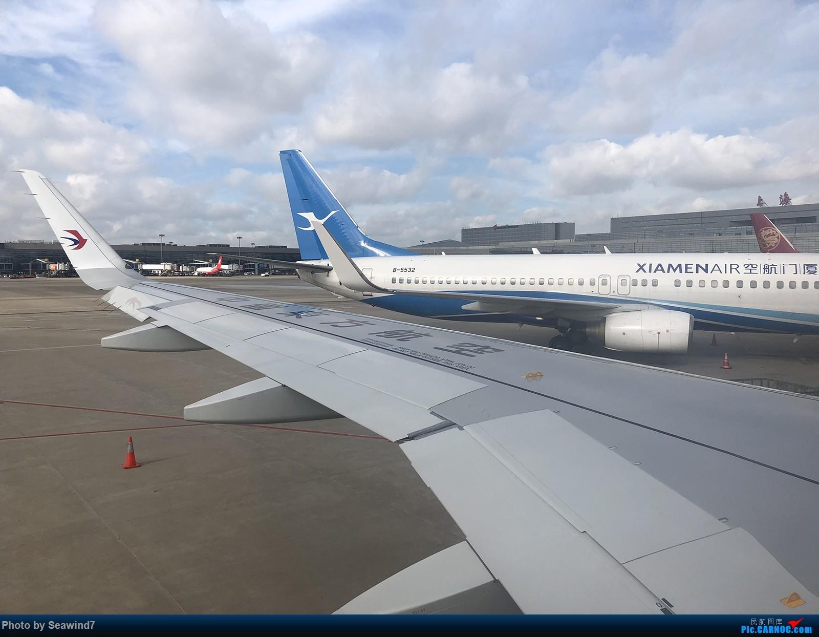 Re:东航第一架字母机/第二架320neo乘坐记 BOEING 737-800 B-5532 中国上海虹桥国际机场