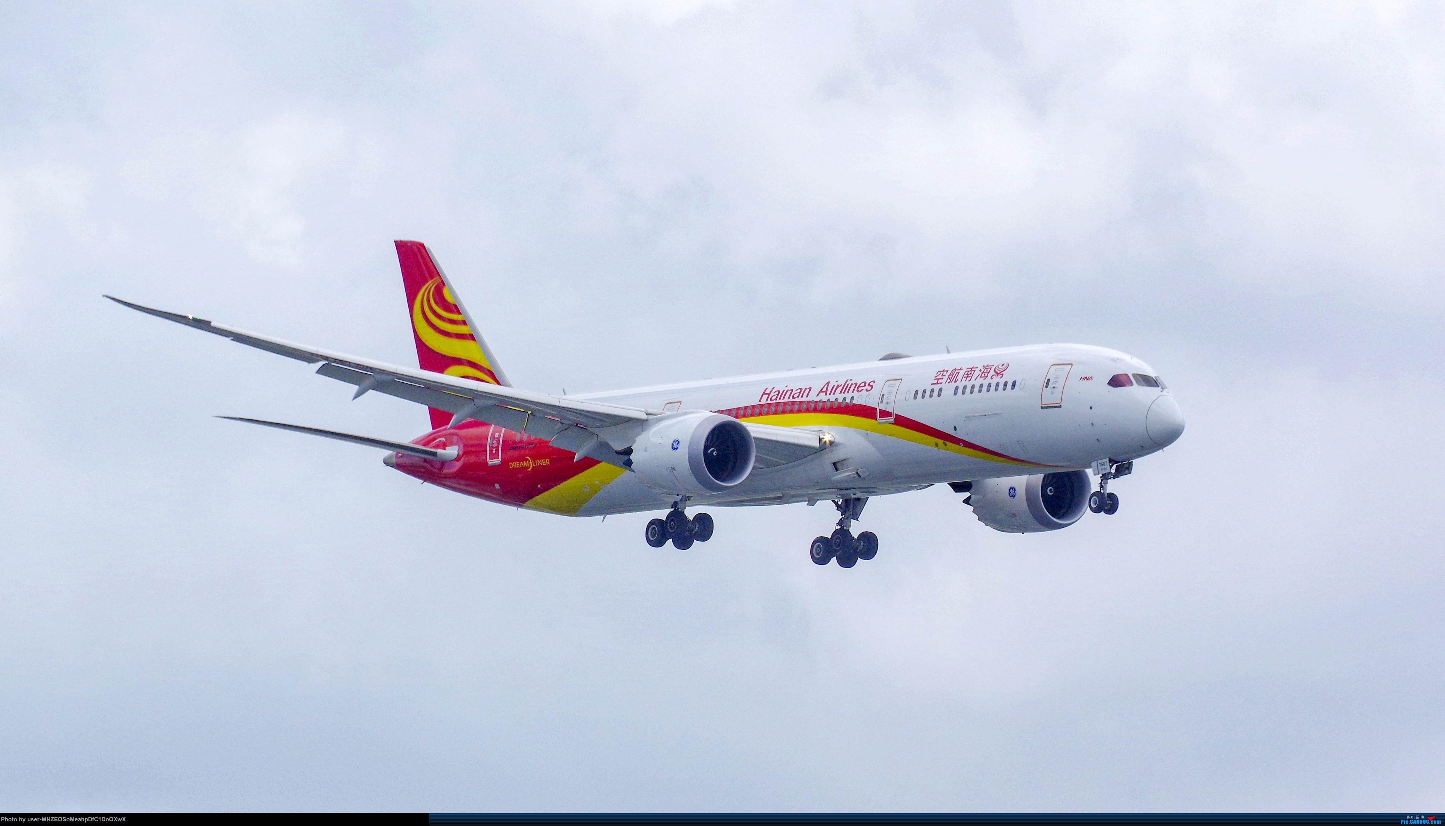 [原创]【SHA】海南航空 B787-9 B-7667 BOEING 787-9 B-7667 中国上海虹桥国际机场