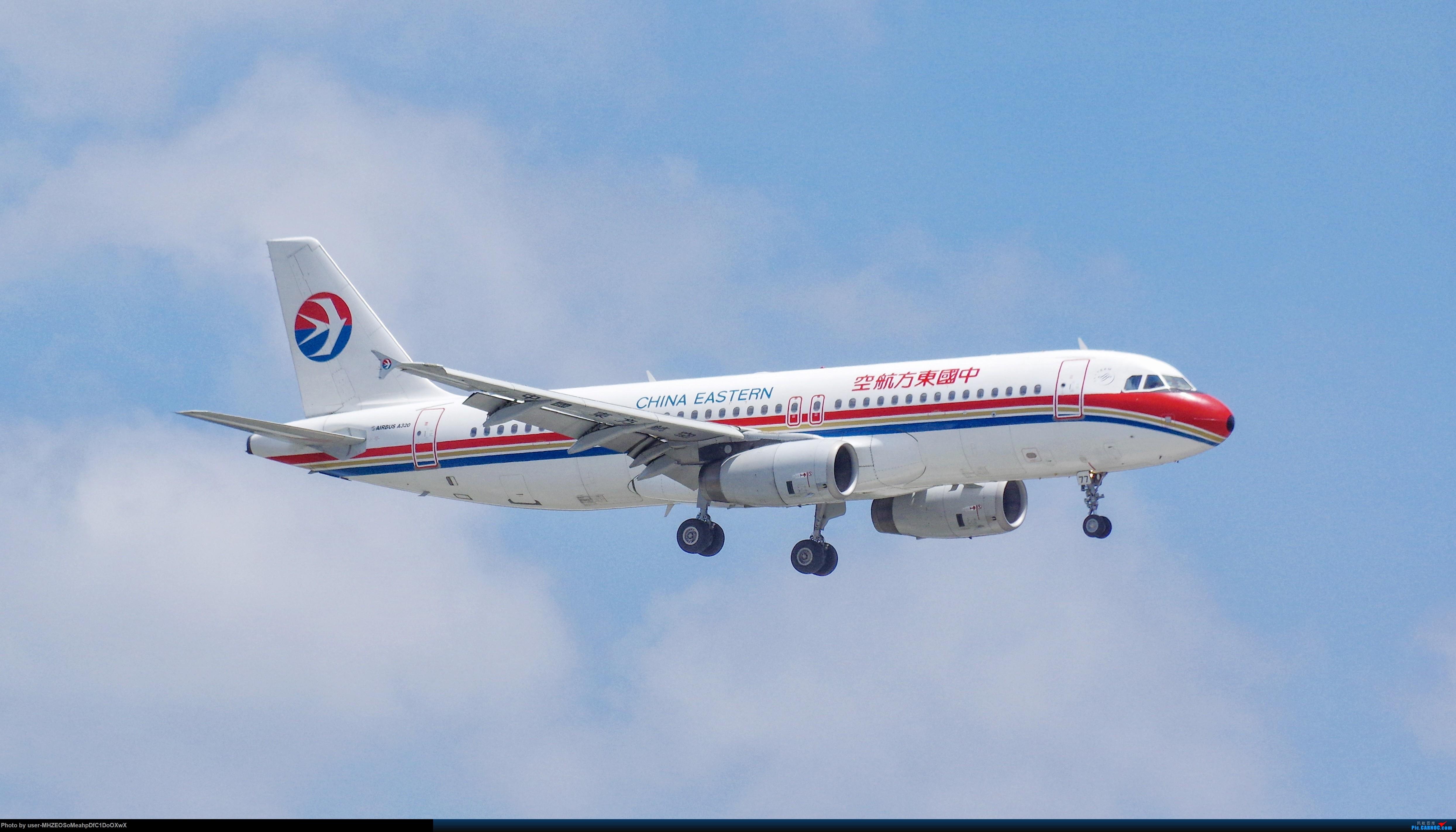 【SHA】中国东方航空 A320-200 老涂装 AIRBUS A320-200 B-6877 中国上海虹桥国际机场