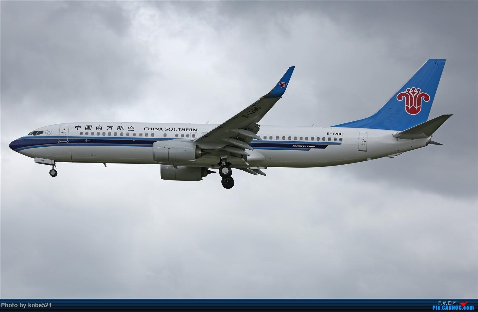 Re:台风天~ BOEING 737-800 B-1286 中国杭州萧山国际机场