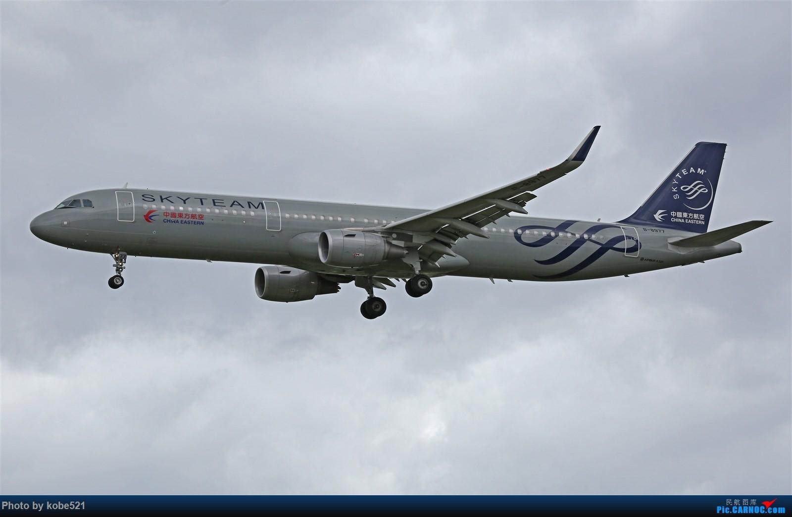 Re:[原创]台风天~ AIRBUS A321-200 B-8977 中国杭州萧山国际机场