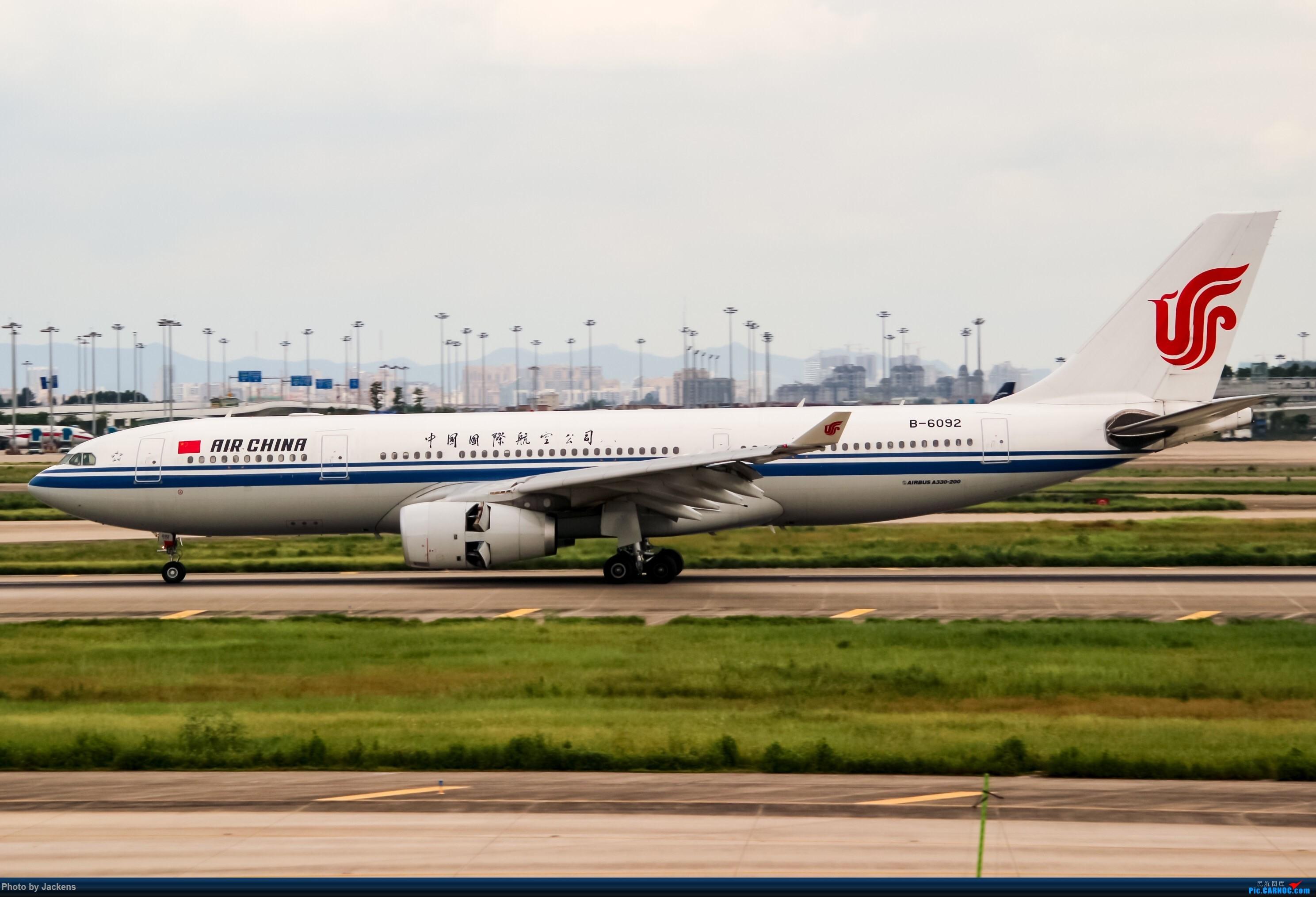 [原创]【CAN】东跑常规货及加卤蛋复古. AIRBUS A330-200 B-6092 中国广州白云国际机场
